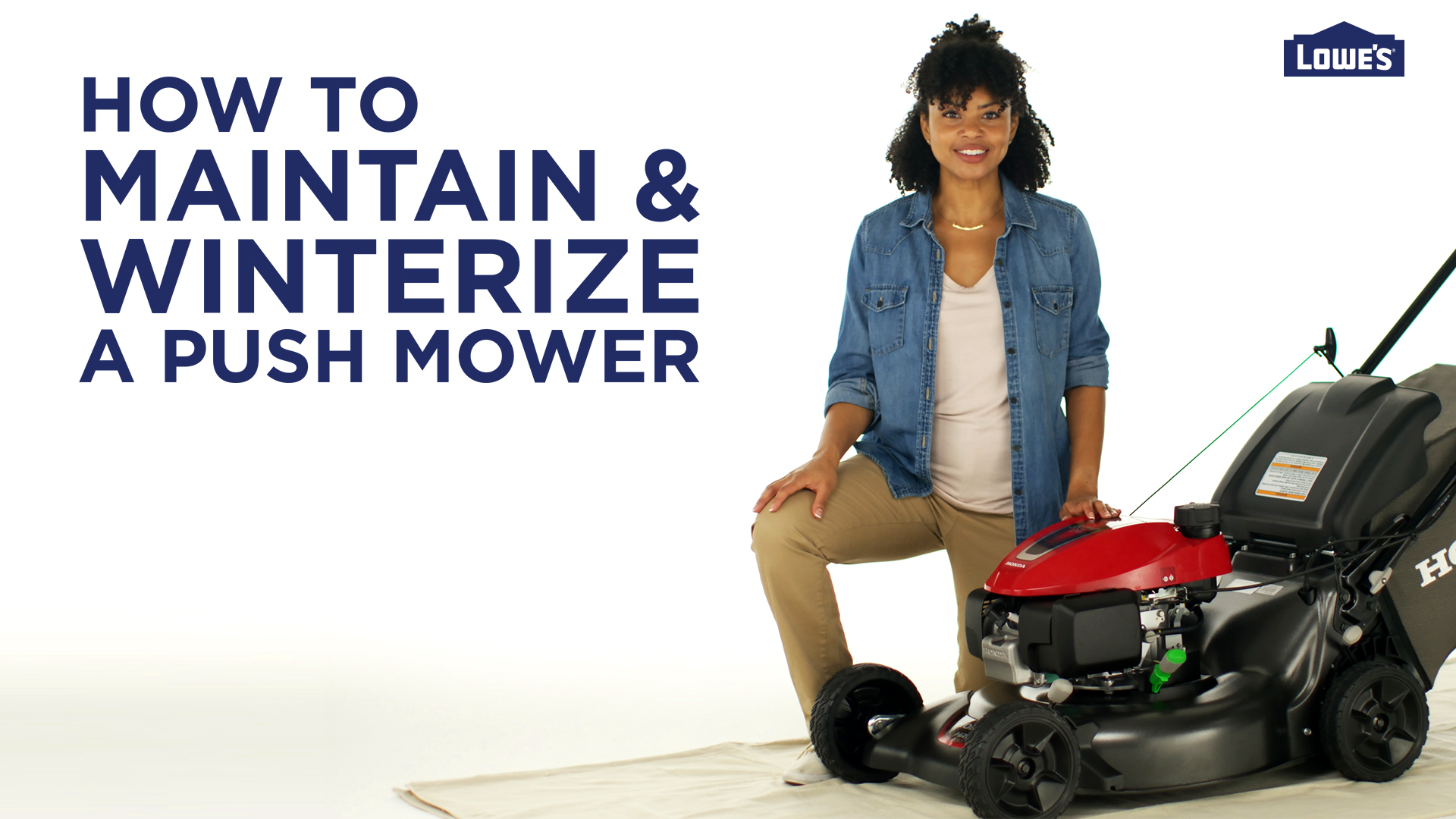 Winterize a Push Mower